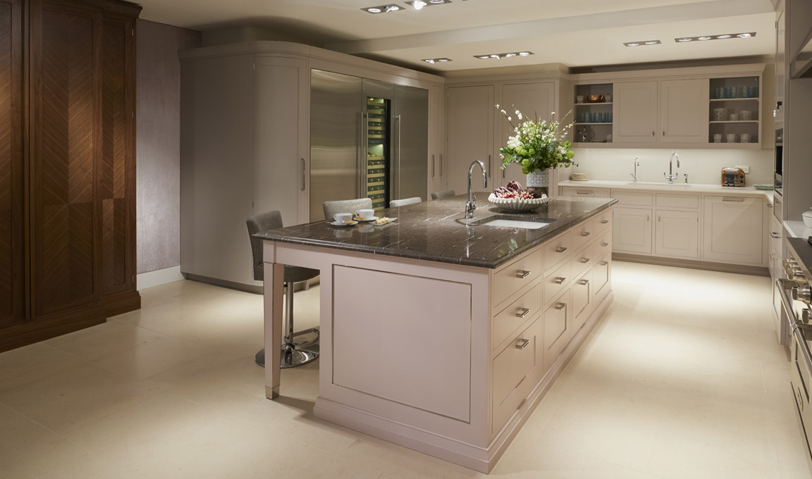 Shaker Kitchen Refined Bespoke Kitchens By Mccarron And Co