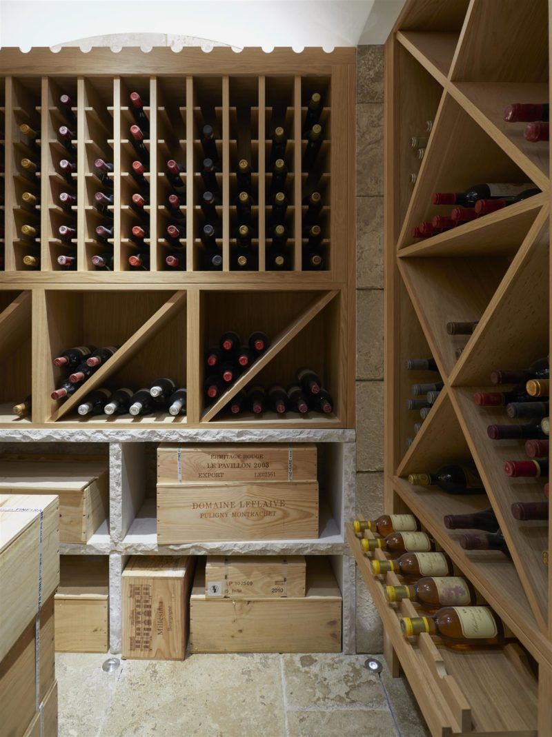 bespoke wine room