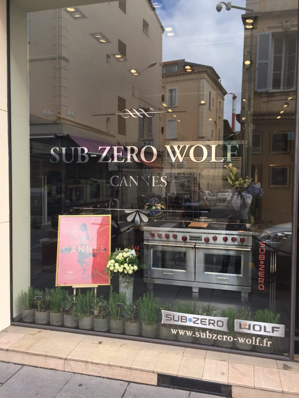 Sub-Zero Wolf showroom in Cannes