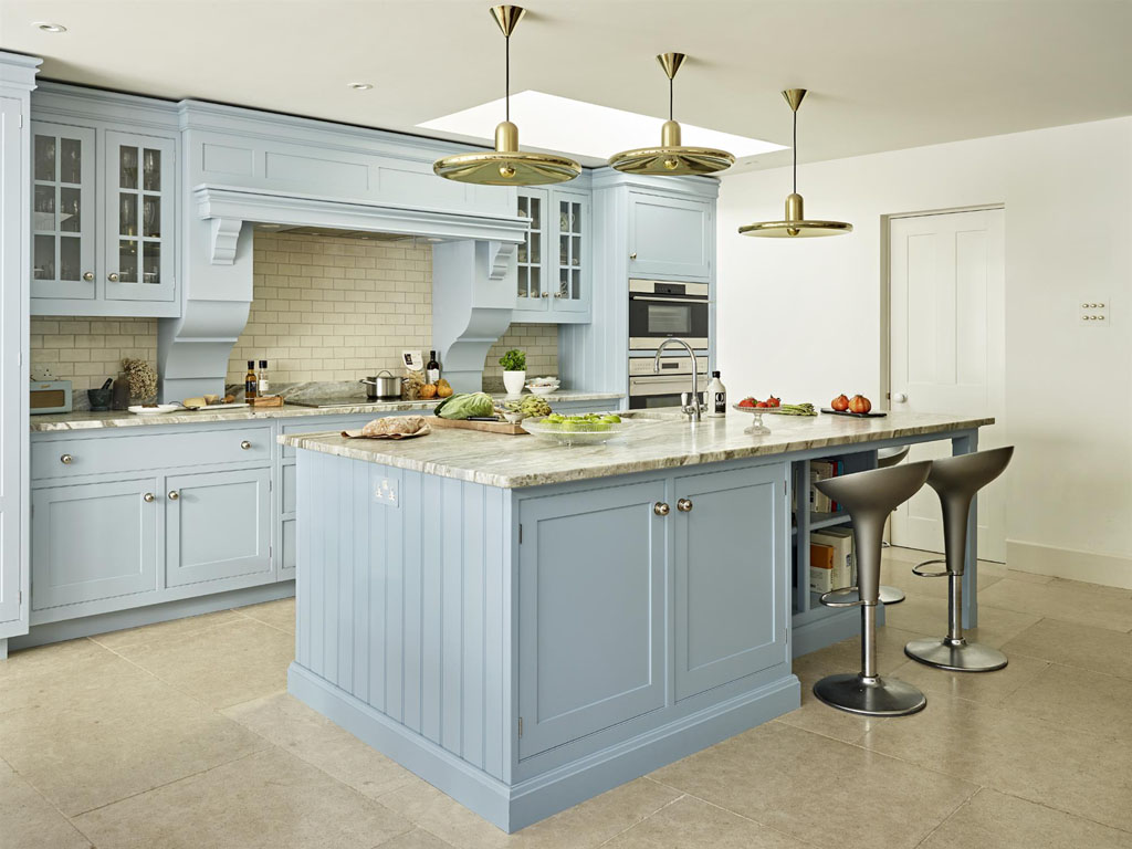 painted kitchen